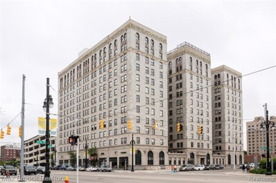 15 E Kirby Street UNIT 1104, Detroit, MI 48202 - MLS#: 219054456