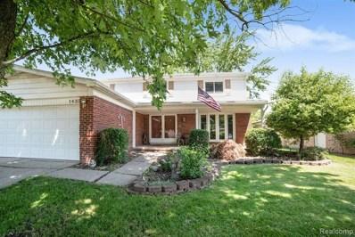 1623 Woodgate Drive, Troy, MI 48083 - MLS#: 219056411