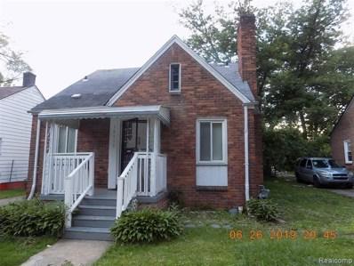 18415 Fielding Street, Detroit, MI 48219 - MLS#: 219061844