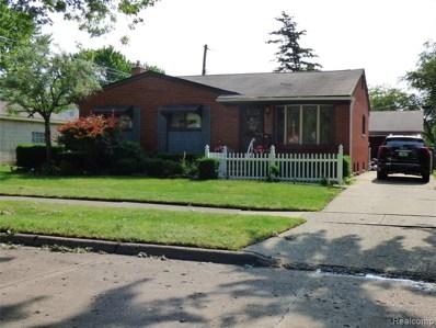 1194 Elliott Avenue, Madison Heights, MI 48071 - MLS#: 219064831