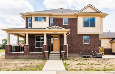 1405 Canfield Street UNIT 1, Detroit, MI 48208 - MLS#: 219068242