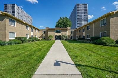 1550 Cherboneau Place UNIT 222, Detroit, MI 48207 - MLS#: 219071037