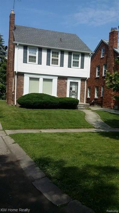 16719 Ashton Avenue, Detroit, MI 48219 - MLS#: 219074978