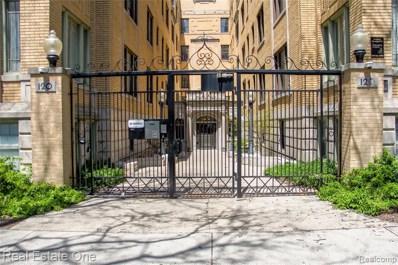 120 Seward Street UNIT 105, Detroit, MI 48202 - MLS#: 219076159