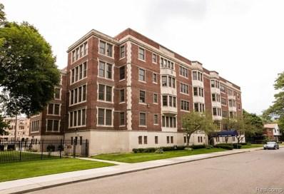 1001 Covington Drive UNIT #16, Detroit, MI 48203 - MLS#: 219077998