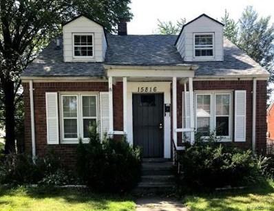 15816 Linnhurst Street, Detroit, MI 48205 - MLS#: 219079509