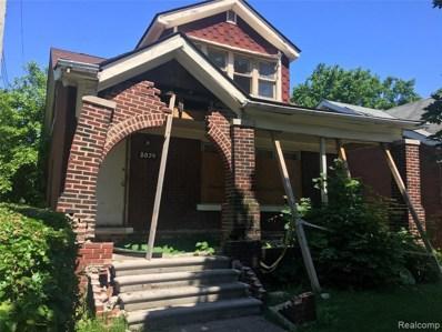 5074 Newport Street, Detroit, MI 48213 - MLS#: 219083057