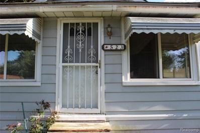 523 Colorado Avenue, Pontiac, MI 48341 - MLS#: 219083557