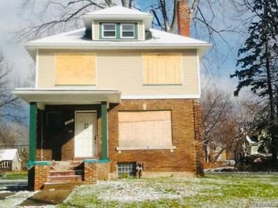 422 Marlborough Street, Detroit, MI 48215 - MLS#: 219083693