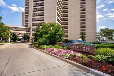 300 Riverfront UNIT 12D, Detroit, MI 48226 - MLS#: 219088045