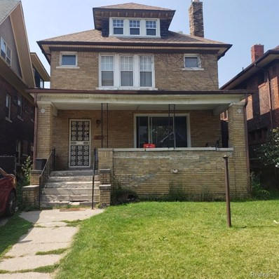 7455 Churchill Street, Detroit, MI 48206 - MLS#: 219093363
