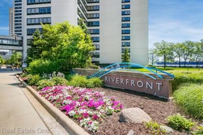 300 W Riverfront Apt. 4B Avenue UNIT 4B, Detroit, MI 48226 - MLS#: 219094820
