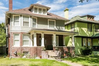 864 Longfellow, Detroit, MI 48202 - MLS#: 219095083