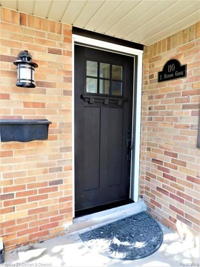 110 E Hickory Grove Road, Bloomfield Hills, MI 48304 - #: 219099683