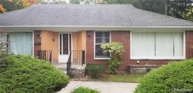 17735 Pierson Street, Detroit, MI 48219 - MLS#: 219103169