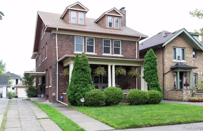 2055 Edison Street, Detroit, MI 48206 - MLS#: 219105099