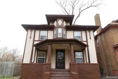 873 Chalmers Street, Detroit, MI 48215 - MLS#: 219109322
