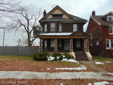 1117 Atkinson Street, Detroit, MI 48202 - MLS#: 219115332