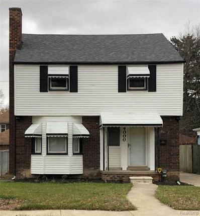 4000 Somerset Avenue, Detroit, MI 48224 - MLS#: 219116247