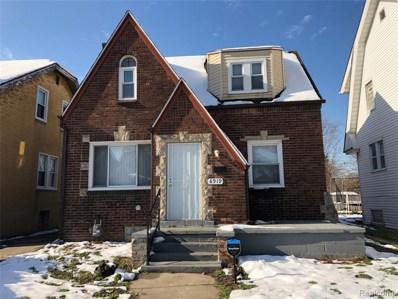 8919 Mendota Street, Detroit, MI 48204 - MLS#: 219116618