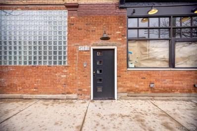 457 E Milwaukee Street, Detroit, MI 48202 - #: 219124244