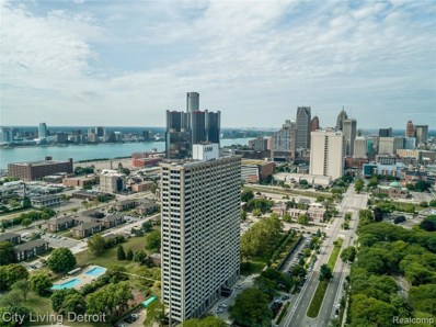 1300 E Lafayette Street UNIT 2110, Detroit, MI 48207 - MLS#: 219124684