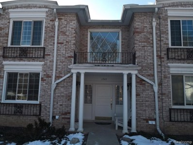 1745 Tiverton Road UNIT 19, Bloomfield Hills, MI 48304 - #: 2200012701