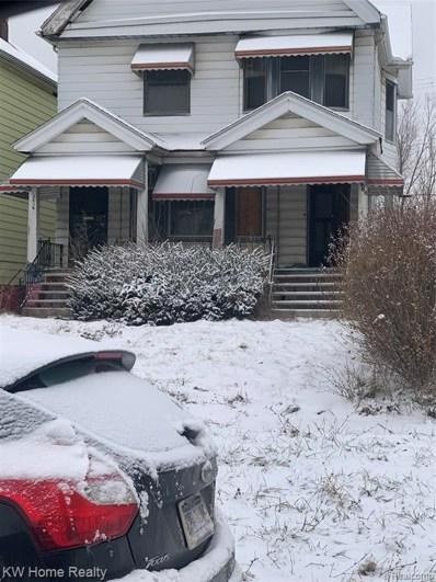 5908 Vermont Street, Detroit, MI 48208 - MLS#: 2200023733