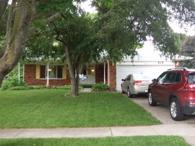 413 Sleepy Hollow, Flushing, MI 48433 - MLS#: 50100002432