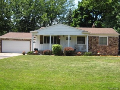 4444 Carmanwood, Flint Twp, MI 48507 - MLS#: 50100002815