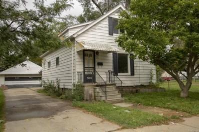 912 Waldman, Flint, MI 48507 - MLS#: 50100004196