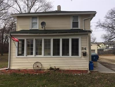 34 Oak St, Hillsdale City, MI 49242 - MLS#: 53018012893