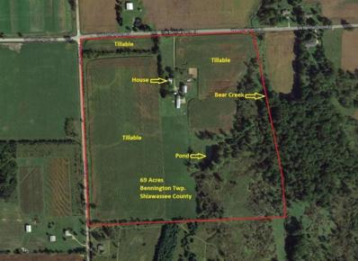 5703 W Bennington Road, Owosso, MI 48867 - MLS#: 53018041091
