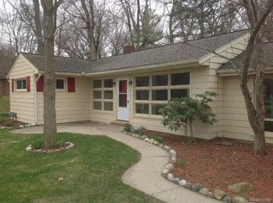 1023 N Freer Road, Chelsea, MI 48118 - MLS#: 543257490