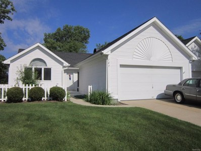 107 Quiet Creek Circle UNIT 4, Chelsea, MI 48118 - MLS#: 543258250