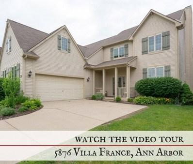 5876 Villa France Avenue, Scio Twp, MI 48103 - MLS#: 543259351