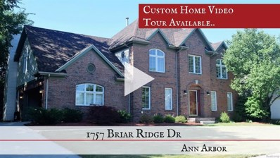 1757 Briar Ridge Drive, Pittsfield Twp, MI 48108 - MLS#: 543259526