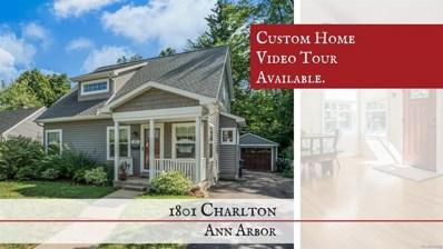 1801 Charlton Street, Ann Arbor, MI 48103 - MLS#: 543260114