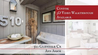 510 Glendale Circle, Ann Arbor, MI 48103 - MLS#: 543260257