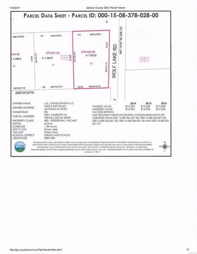 2301 S Burgett, Grass Lake Twp, MI 49240 - MLS#: 543260343