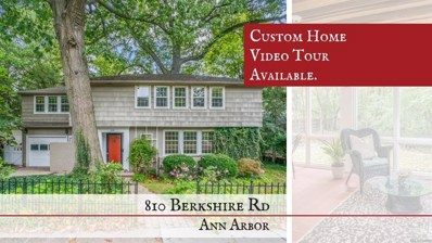810 Berkshire Road, Ann Arbor, MI 48104 - MLS#: 543260557