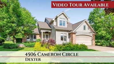 4506 Cameron Circle, Webster Twp, MI 48130 - MLS#: 543265989