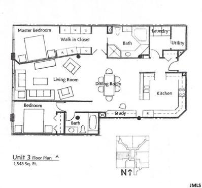109 W Washington Ave UNIT Loft 3, City Of Jackson, MI 49201 - MLS#: 55020021680