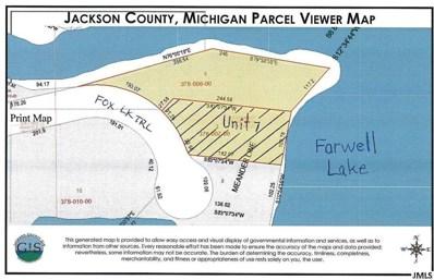 Fox Lake Trail, Hanover, MI 49246 - MLS#: 55201801273