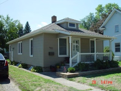 761 Elmwood, City Of Jackson, MI 49203 - MLS#: 55201803356