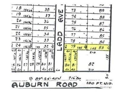 Auburn, Shelby Twp, MI 48317 - MLS#: 58031312319