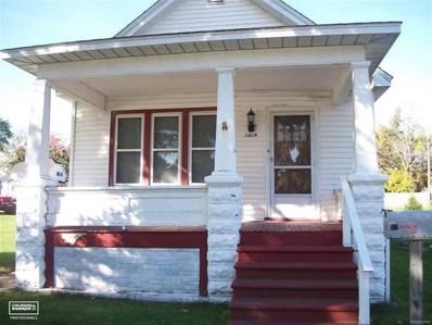 1819 10TH St, Port Huron, MI 48060 - MLS#: 58031333684