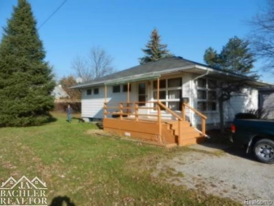 580 Chartier, Marine City, MI 48039 - MLS#: 58031336717