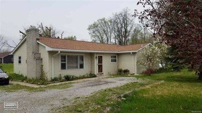 5521 Wildcat, Clyde Twp, MI 48049 - MLS#: 58031338569