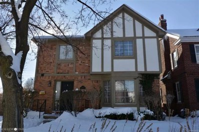 1405 Bishop Rd, Grosse Pointe Park, MI 48230 - MLS#: 58031340233